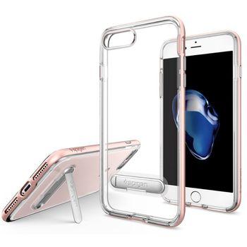 Spigen ochranný kryt Crystal Hybrid pro iPhone 7 plus, růžová
