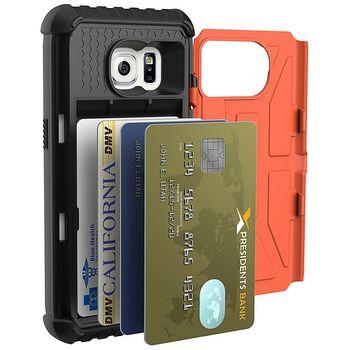 UAG ochranný kryt card case Outland pro Galaxy S7, oranžový