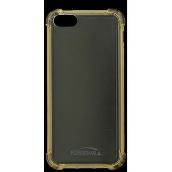 Kisswill Shock TPU pouzdro pro iPhone 5/5S/SE, zlatá