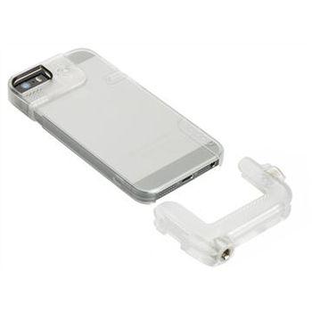 Olloclip Quick-Flip Clear Case pouzdro pro iPhone 5/5S