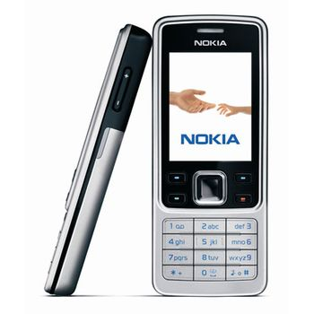 NOKIA 6300 Black Silver + BH-101