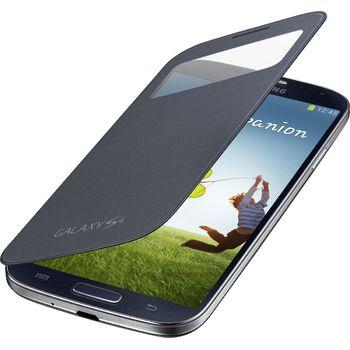 Samsung flipové pouzdro S-view EF-CI950BB pro Galaxy S4 (i9505), černé