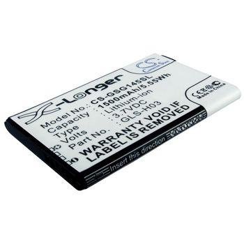 Baterie pro Gigabyte GSmart G1345, 1500mAh li-ion
