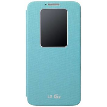 LG flipové pouzdro QuickWindow CCF-240G pro LG G2, zelené