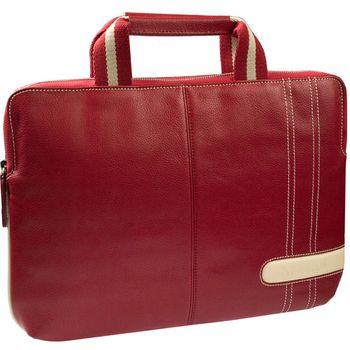 """Krusell Gaia Laptop Slim taška na notebook - do 16"""" - červená/krémová"""
