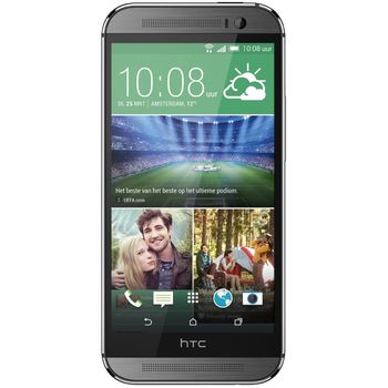 HTC One (M8) 16GB dual sim, šedý