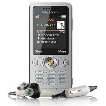 Sony Ericsson W302i Sparkling White