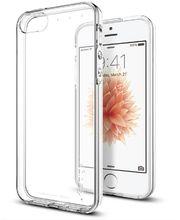 Spigen pouzdro Liquid pro iPhone SE/5s/5, průhledná
