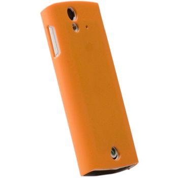 Krusell hard case - ColorCover - Sony Ericsson XPERIA Ray (oranžová)