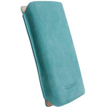 Krusell pouzdro Tingstad Pouch XL - Sony Ericsson XPERIA Neo/Play/Pro  119x62x16 mm  (tyrkysová)