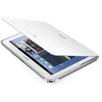 Samsung polohovací pouzdro EFC-1G2NW pro Galaxy Note 10.1. (N8000/N8010), bílé, rozbaleno