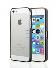 Esperia hliníkový rámeček pro Apple iPhone 5/5S, černý