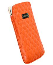 Krusell pouzdro Avenyn L Long - iPhone 5, Sony Xperia P/J (oranžová)