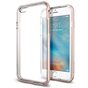 Spigen pouzdro Neo Hybrid EX pro iPhone 6S, růžovo zlaté