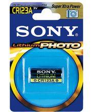 SONY CR123AB1A lithiová foto baterie CR123A, 1300mAh