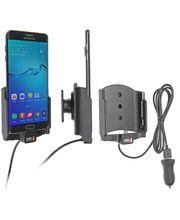 Brodit držák do auta na Samsung Galaxy S6 Edge+ bez pouzdra, s nabíjením z cig. zapalovače/USB