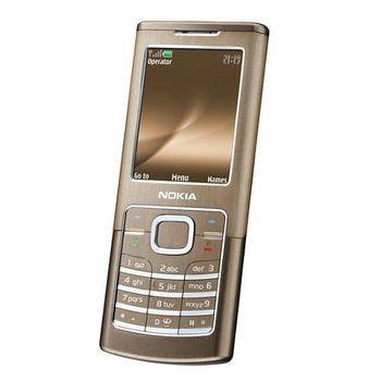 NOKIA 6500 classic Bronze + pasivní držák Brodit