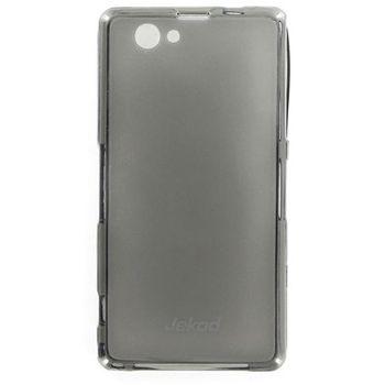 Jekod TPU silikonový kryt Sony Xperia Z1 Compact, černá