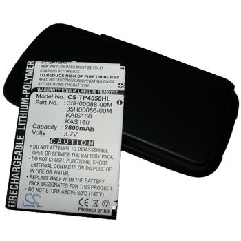 Baterie (ekv. BA-S210) pro HTC TyTN II, rozšířená včetně krytu, Li-Pol 3,7V 2800mAh