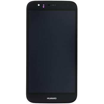 Náhradní díl Huawei Ascend G8 LCD Display + dotyková deska + přední kryt černá