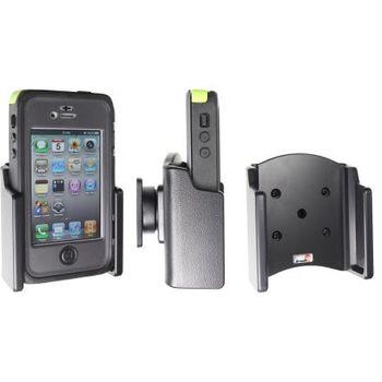 Brodit držák do auta na Apple iPhone 4S v pouzdře Otterbox Armor Series, bez nabíjení
