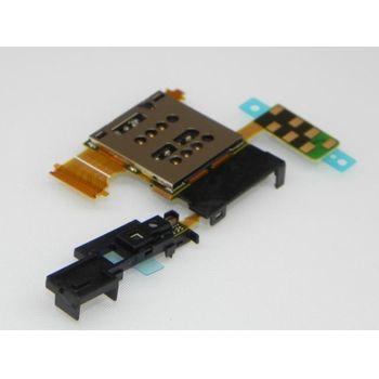 Náhradní díl držák SIM karty pro Sony LT28i Ion
