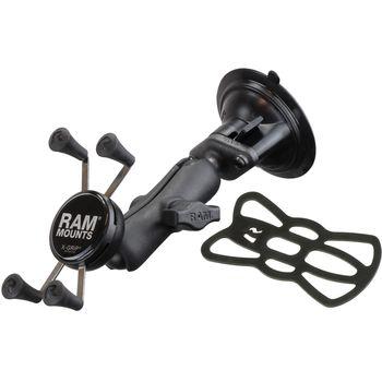 RAM Mounts univerzální držák na mobil do auta s vysoce kvalitní přísavkou na sklo, X-Grip, sestava RAP-B-166-UN7U