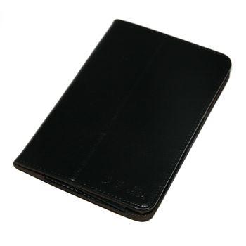 """Pouzdro se stojanem pro 7"""" tablet AURORA, CRYSTAL, ELF, MARS - černé-hnědé"""