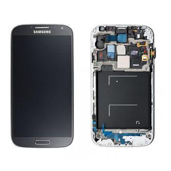 Náhradní díl LCD displej s dotykovou vrstvou a předním krytem pro Samsung i9515 Galaxy S4 VE, černá