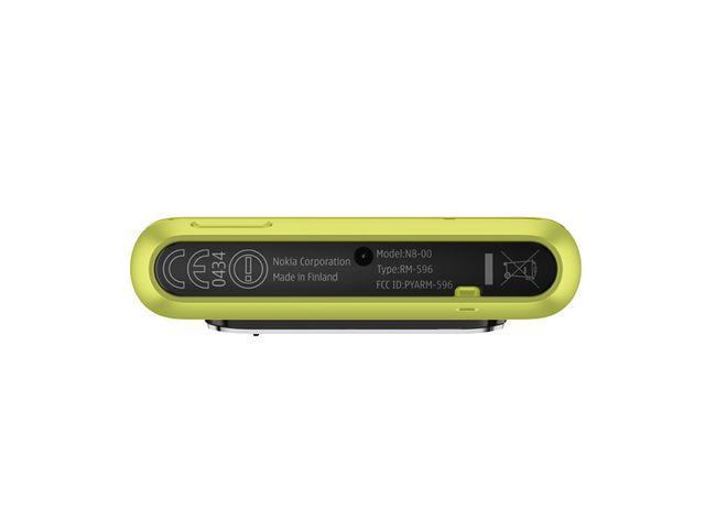 obsah balení Nokia N8 Green + držák Brodit Molex
