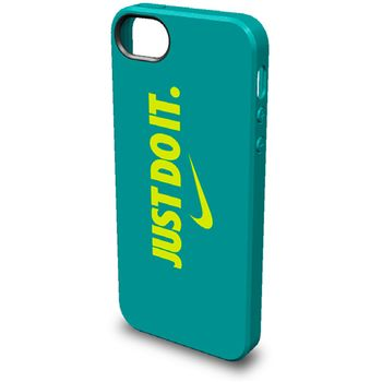 Nike JustDoIt kryt pro iPhone 5/5S, modro-žlutý