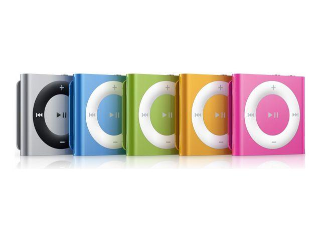 obsah balení Apple iPod shuffle 2GB Orange 4.gen + reproduktor přenosný Soundtraveller K3000ST