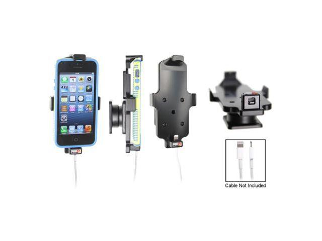 obsah balení Brodit držák do auta pro iPhone 5/5S v pouzdru s průchozím konektorem + zadní kryt Spigen černý