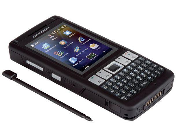 obsah balení Opticon H21 1D Odolné PDA s WM 6.5, Bluetooth+GSM/GPRS+WLAN, WM 6.5, QWERTY