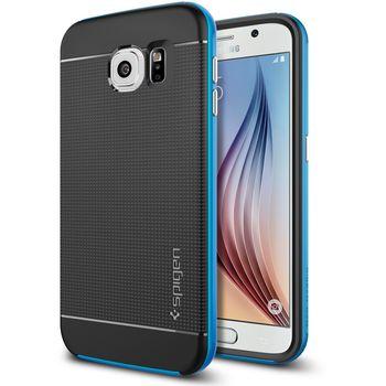 Spigen pouzdro Neo Hybrid pro Samsung Galaxy S6, modrá