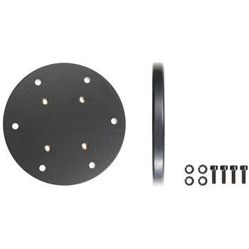 Brodit kruhová montážní podložka, průměr 100 mm, 4xAMPS