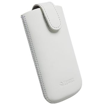 Krusell pouzdro Aspero M - 104x53x12mm (bílá)