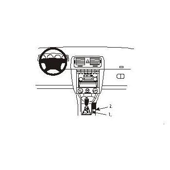 Brodit ProClip montážní konzole pro Škoda Fabia 00-05