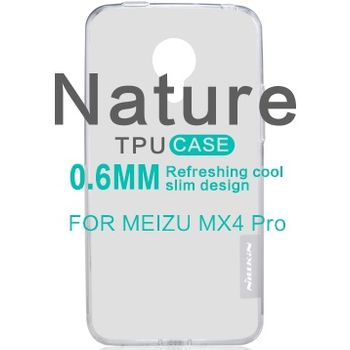 Nillkin pouzdro Nature TPU pro Meizu MX4 Pro, šedé