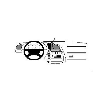 Brodit ProClip mont. konzole pro Volkswagen Sharan/Ford Galaxy 95-00 /Seat Alhambra 97-00, na střed