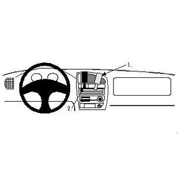 Brodit ProClip montážní konzole pro Citroen Saxo 96-01, na střed
