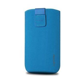 Fixed pouzdro Velvet, velikost L, modrá