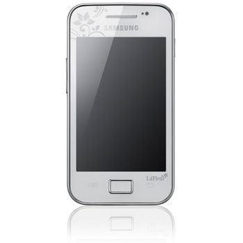 Samsung Galaxy Ace White La Fleur+ Solární nabíječka Solarmonkey-Adventurer