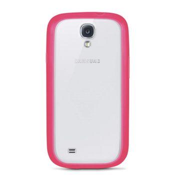 Belkin TPU / PC dvojmateriálové pouzdro pro Samsung Galaxy S4, růžové / průhledné