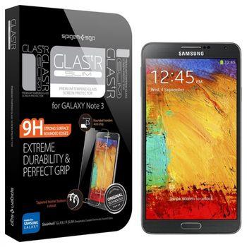 Spigen GLAS.tR prémiové ochranné sklo pro Galaxy NOTE 3