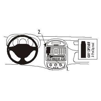 Brodit ProClip montážní konzole pro Renault Clio 99-01, na střed