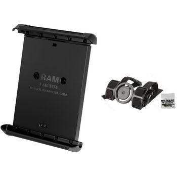"""RAM Mounts univerzální držák na 7"""" a 8"""" tablety s nákoleníkem pro piloty, sestava RAM-BL-M1-TAB-SMU"""
