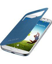 Samsung flipové pouzdro S-view EF-CI950BL pro Galaxy S4 (i9505), tmavě modrá