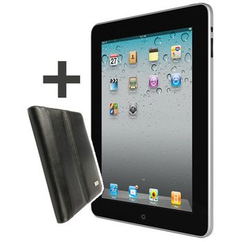 Apple iPad 64GB Wi-Fi + 3G Cz + Krusell Luna černá
