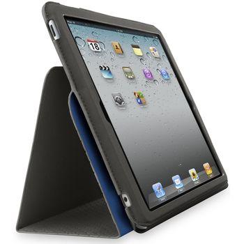 Belkin iPad2 Slim Folio Stand, černá/modrá (F8N605cwC02)